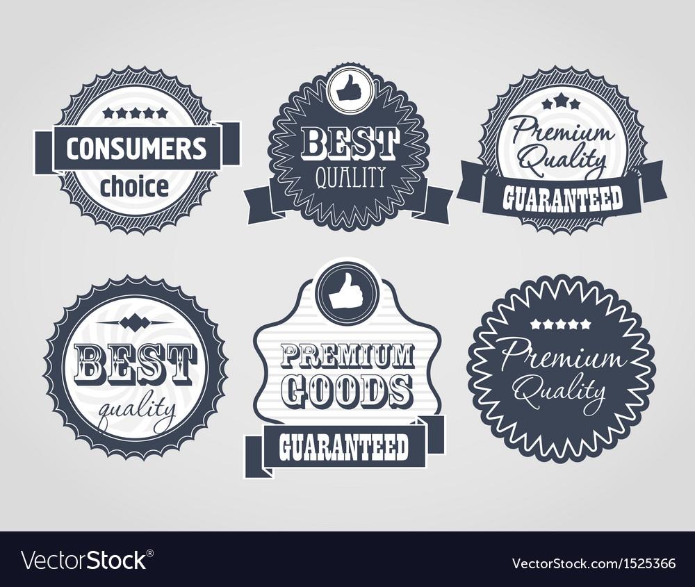 Vintage labels discount labels vector | Price: 1 Credit (USD $1)
