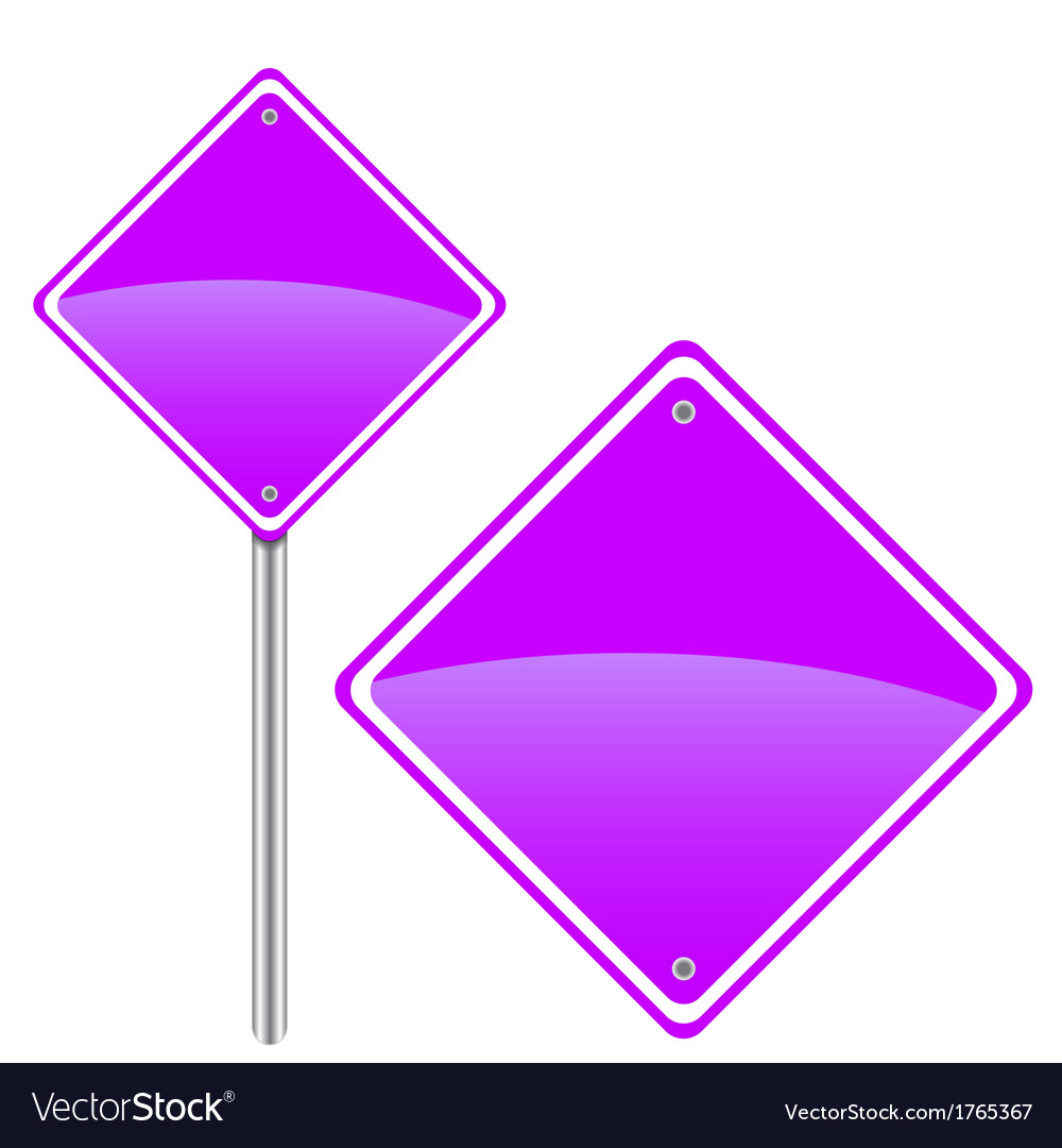 New road sign vector | Price: 1 Credit (USD $1)