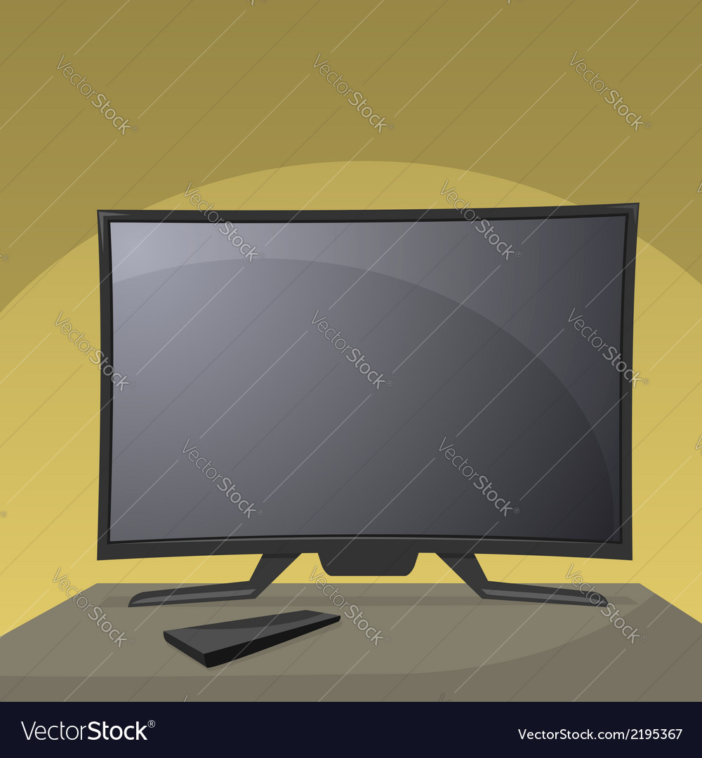 Smart tv vector | Price: 1 Credit (USD $1)