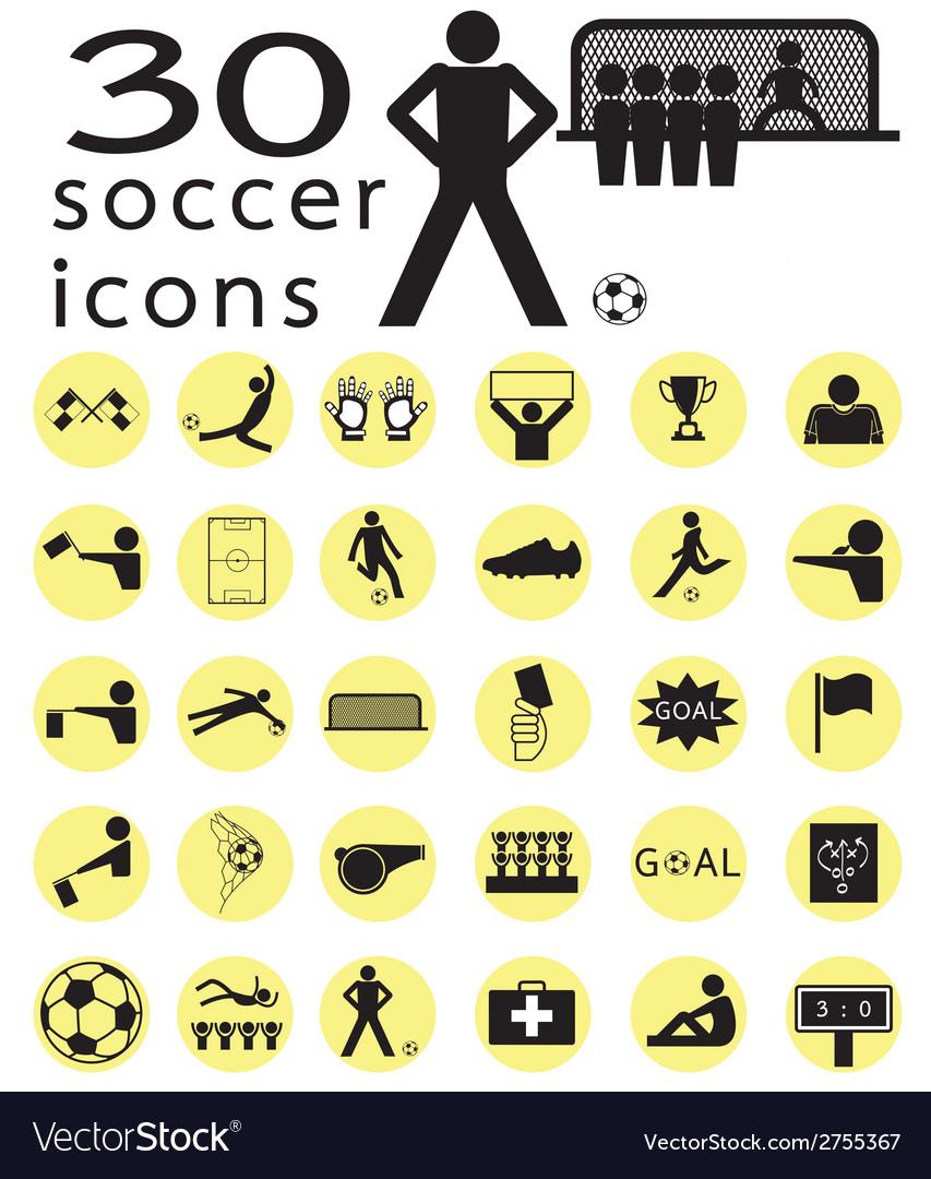 Soccer icon1 vector   Price: 1 Credit (USD $1)