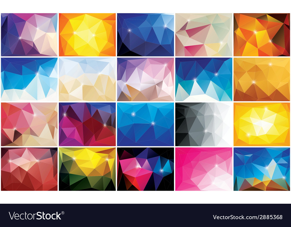 Abstract geometric colorful background pattern vector | Price: 1 Credit (USD $1)