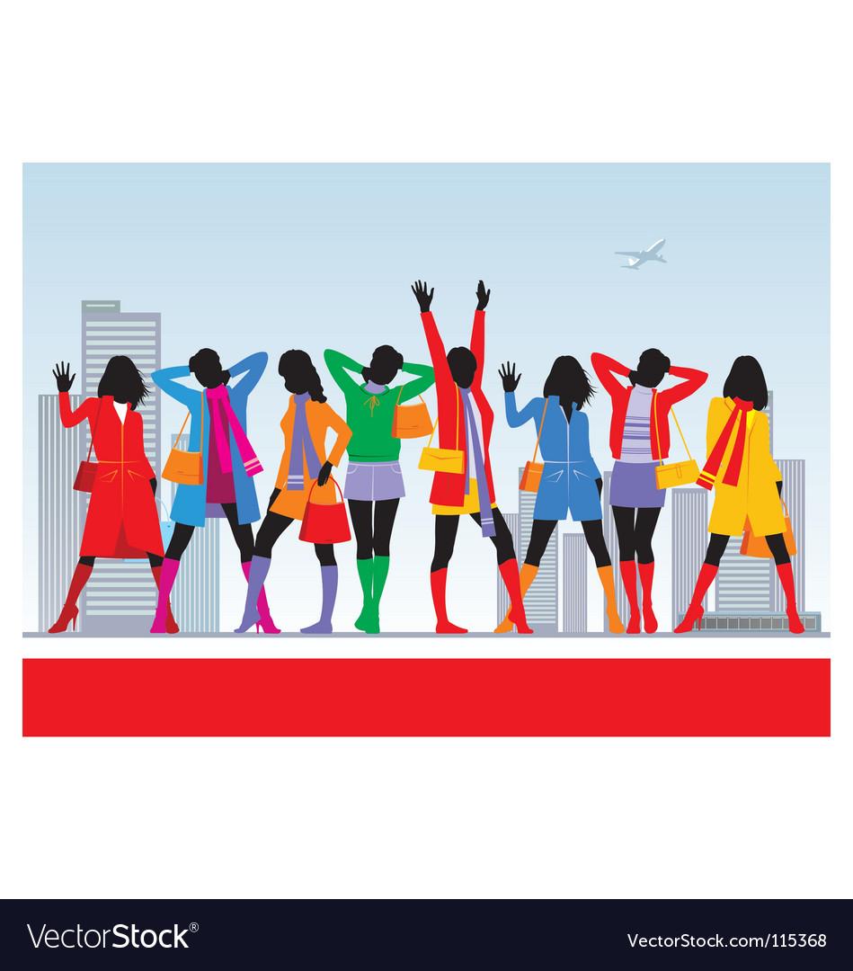 Female fashion vector   Price: 1 Credit (USD $1)