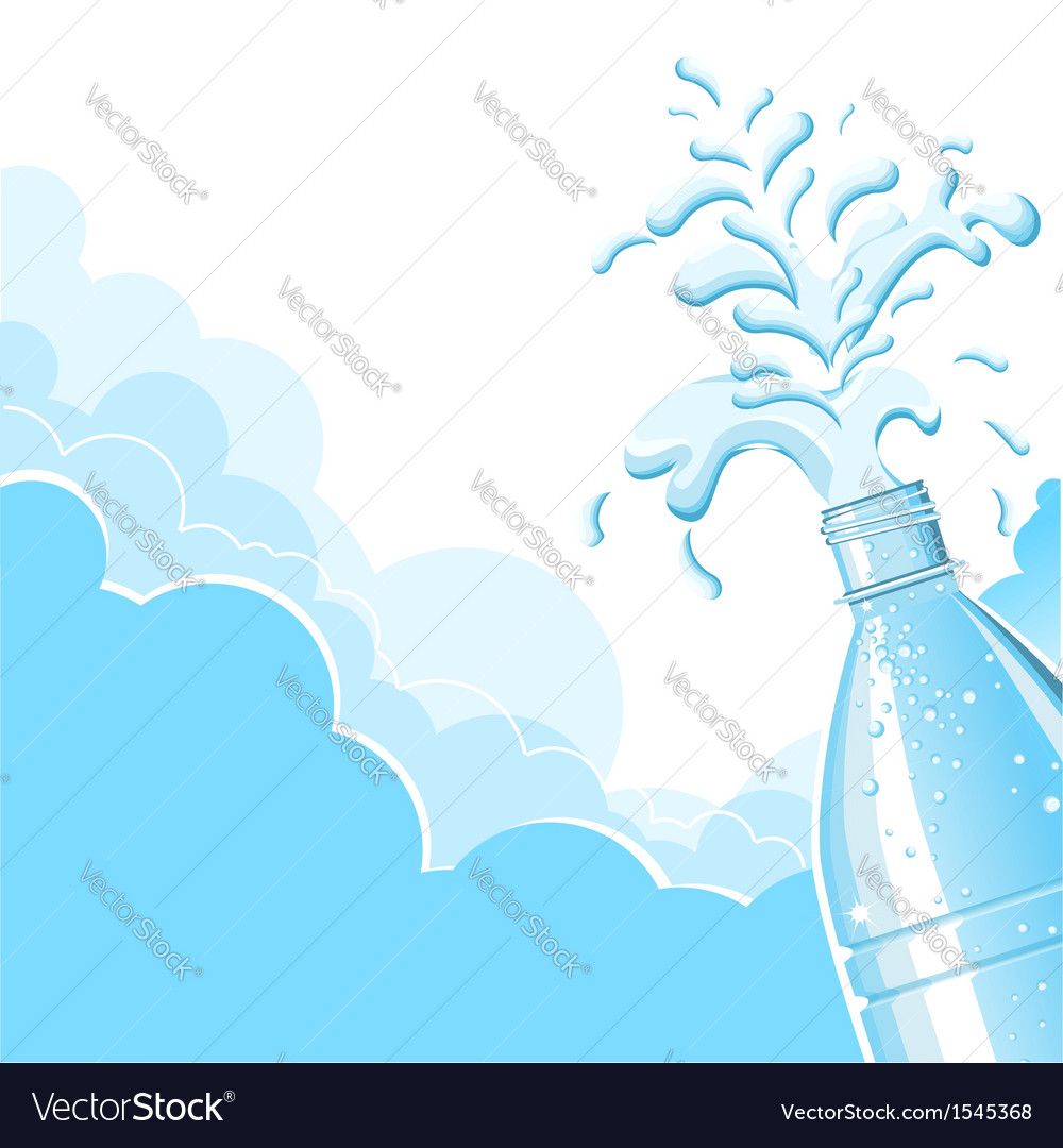Splashing clean water vector | Price: 1 Credit (USD $1)