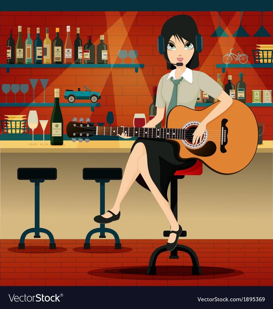 Bars in restaurants vector | Price: 3 Credit (USD $3)