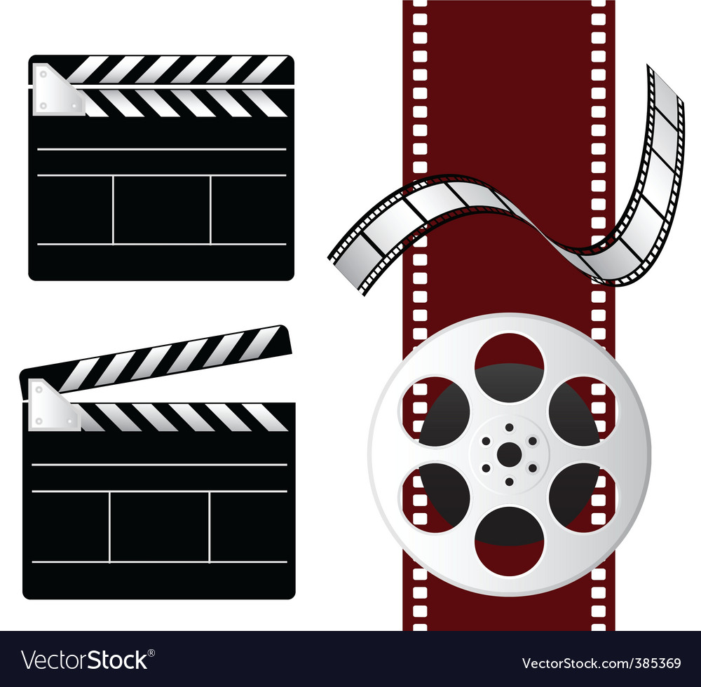 Film elements vector | Price: 1 Credit (USD $1)