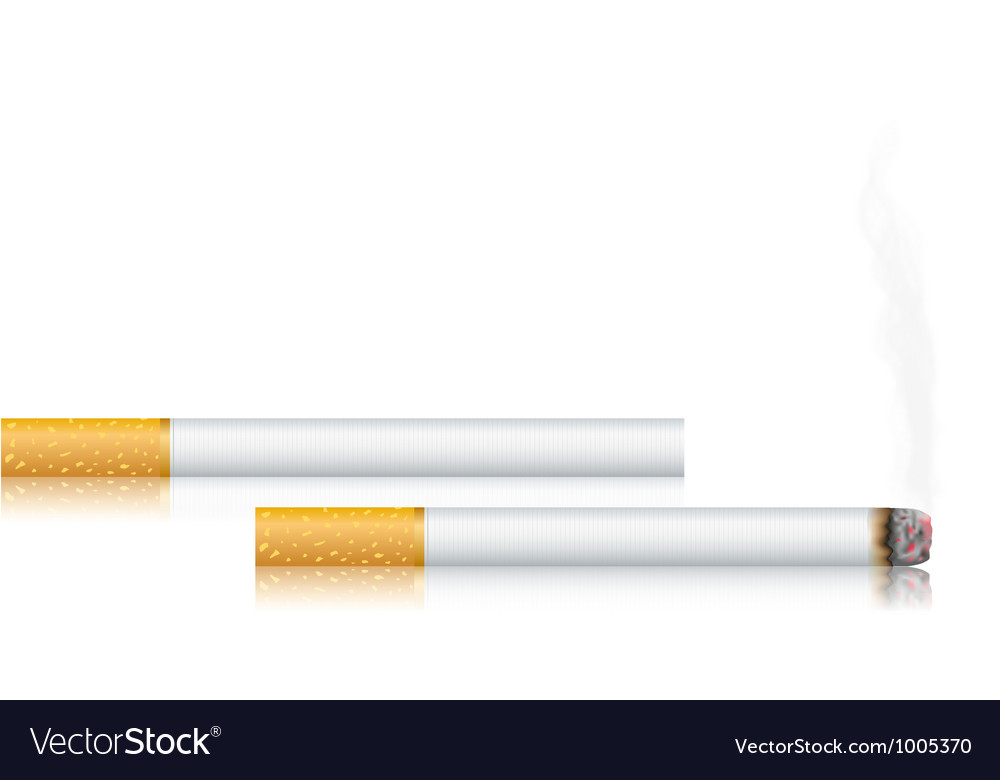 Cigarettes vector | Price: 1 Credit (USD $1)