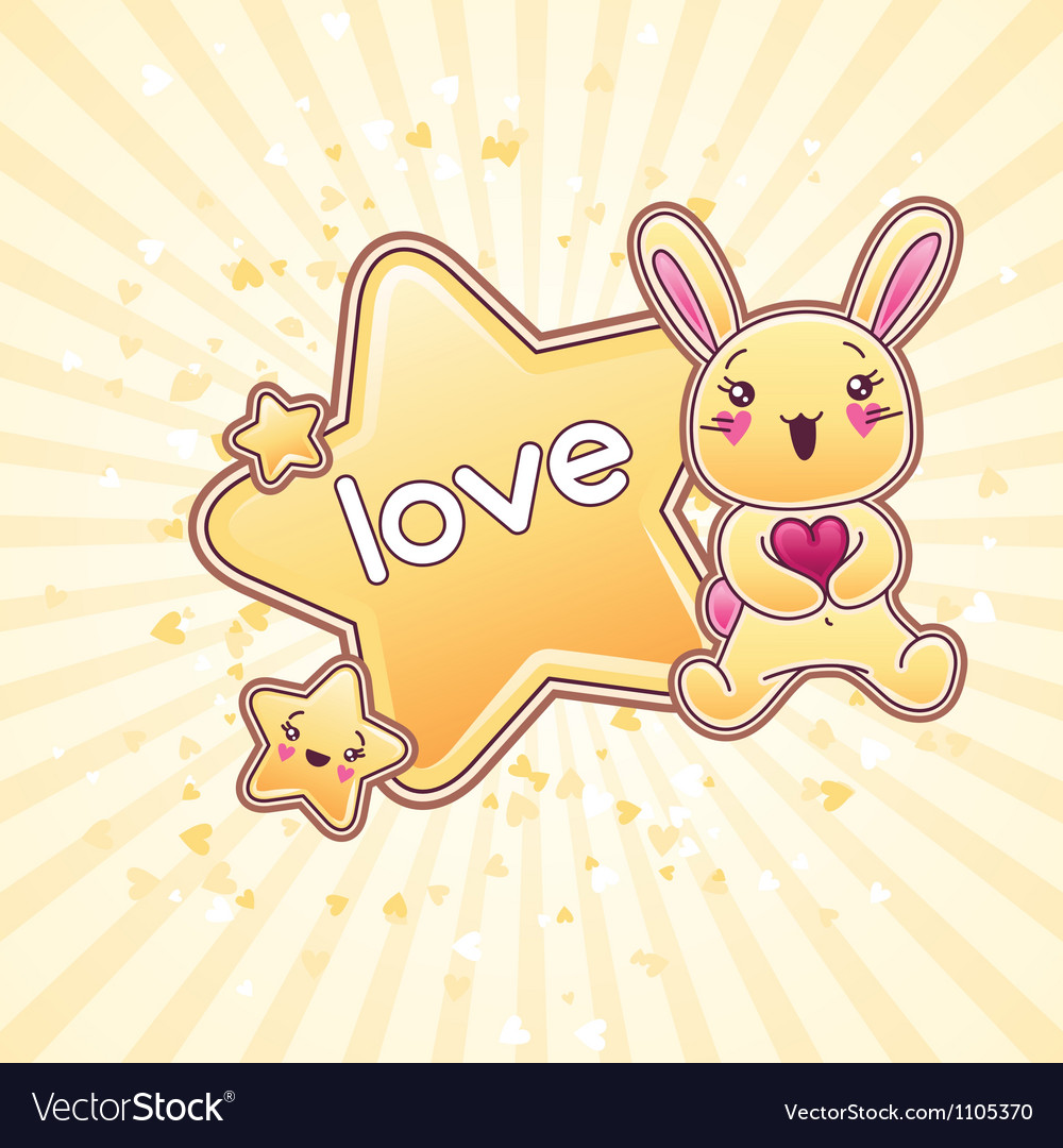 Cute child background with kawaii doodles vector | Price: 3 Credit (USD $3)