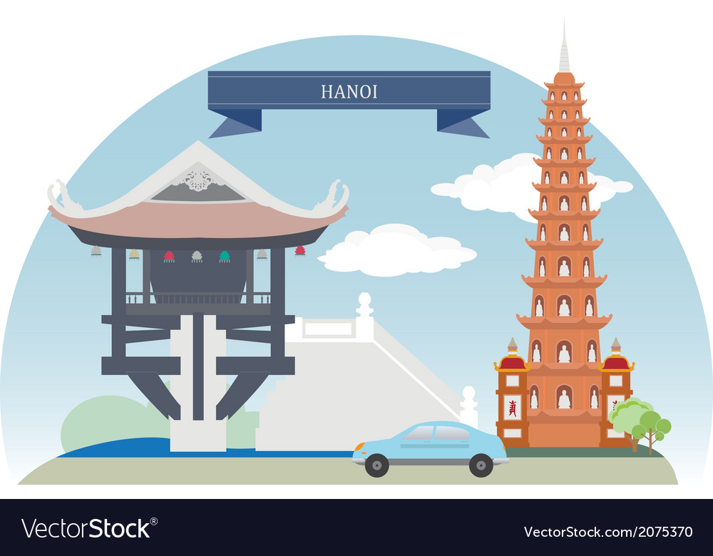 Hanoi vector | Price: 1 Credit (USD $1)
