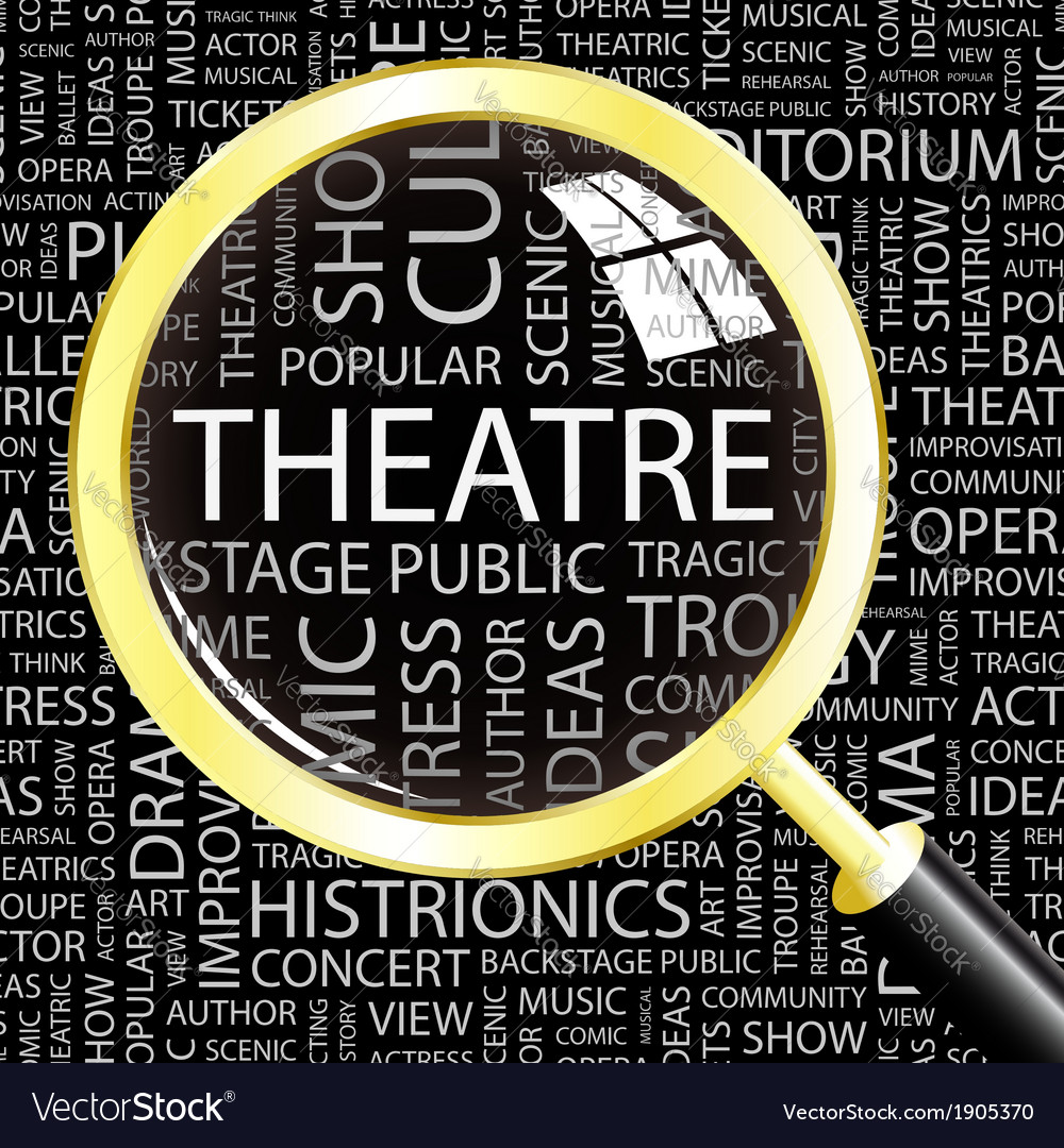 Theatre vector | Price: 1 Credit (USD $1)