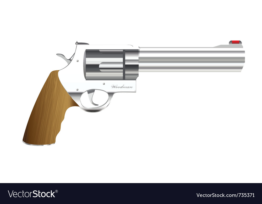 Metal handgun vector | Price: 1 Credit (USD $1)
