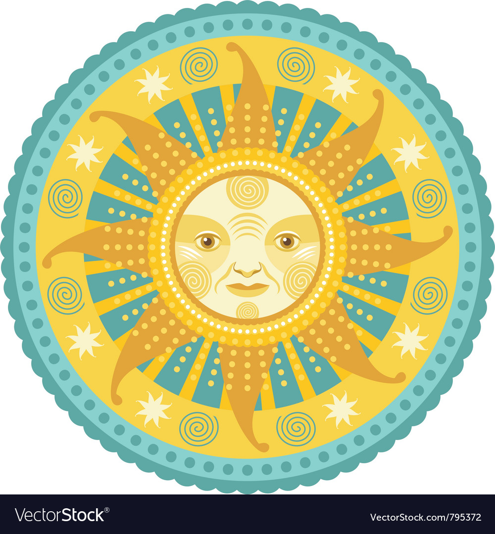 Daylight mandala vector | Price: 3 Credit (USD $3)