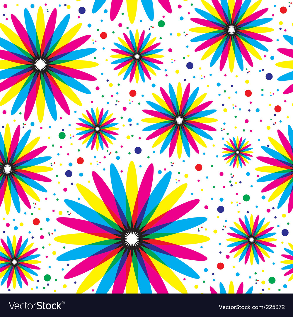 Floral seamless pattern vector   Price: 1 Credit (USD $1)