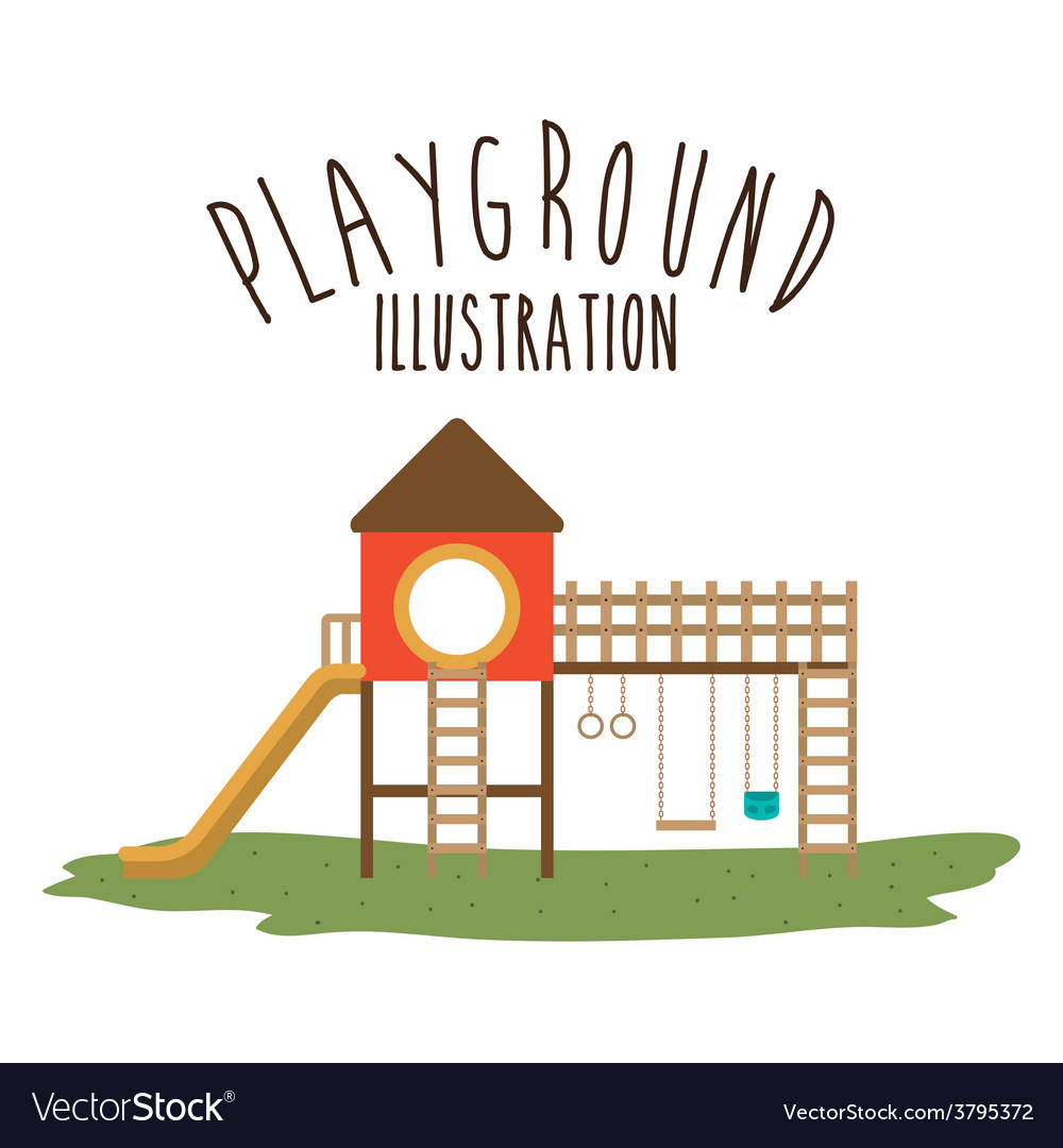 Playground design vector | Price: 1 Credit (USD $1)