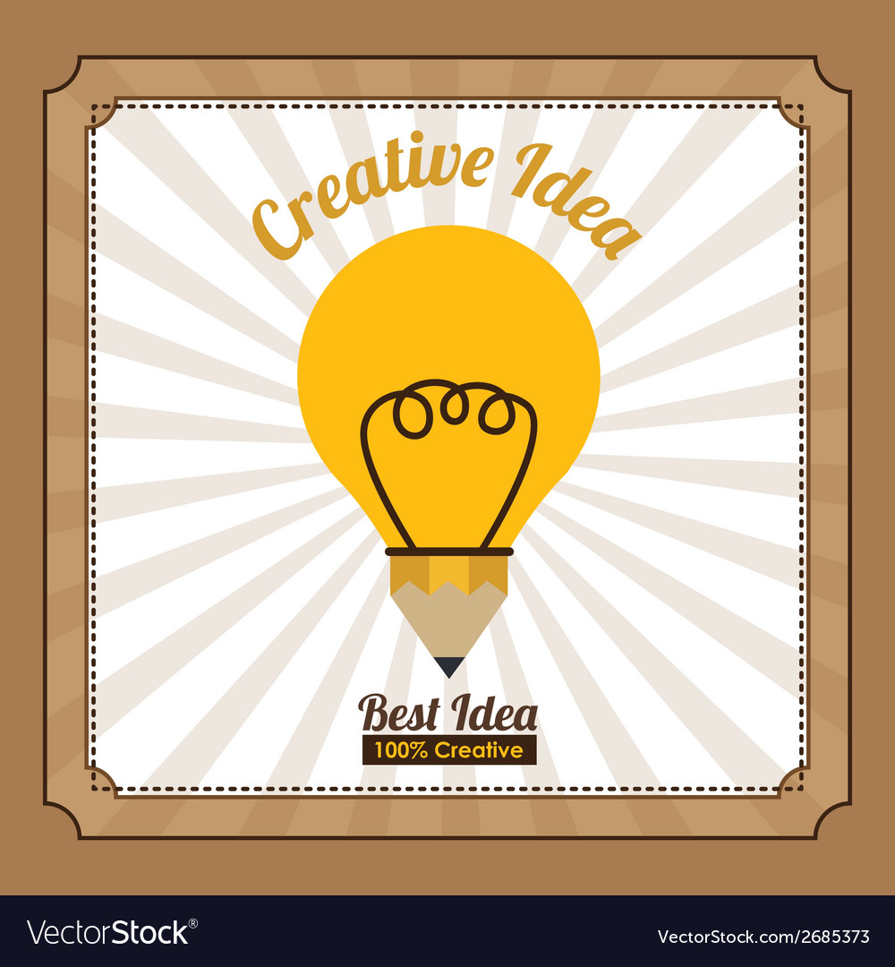 Ecological idea design vector | Price: 1 Credit (USD $1)