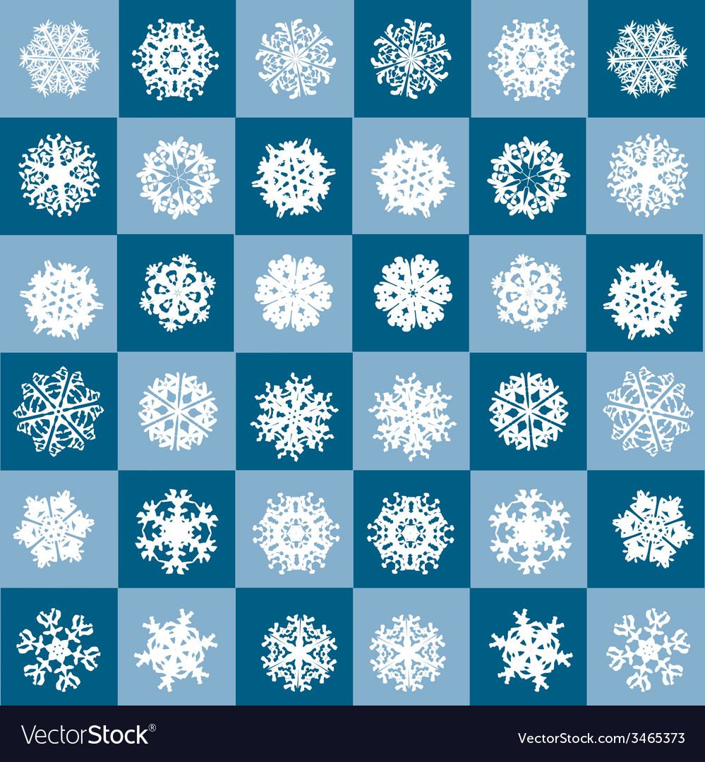 Snowflakes winter seamless texture endless pattern vector   Price: 1 Credit (USD $1)