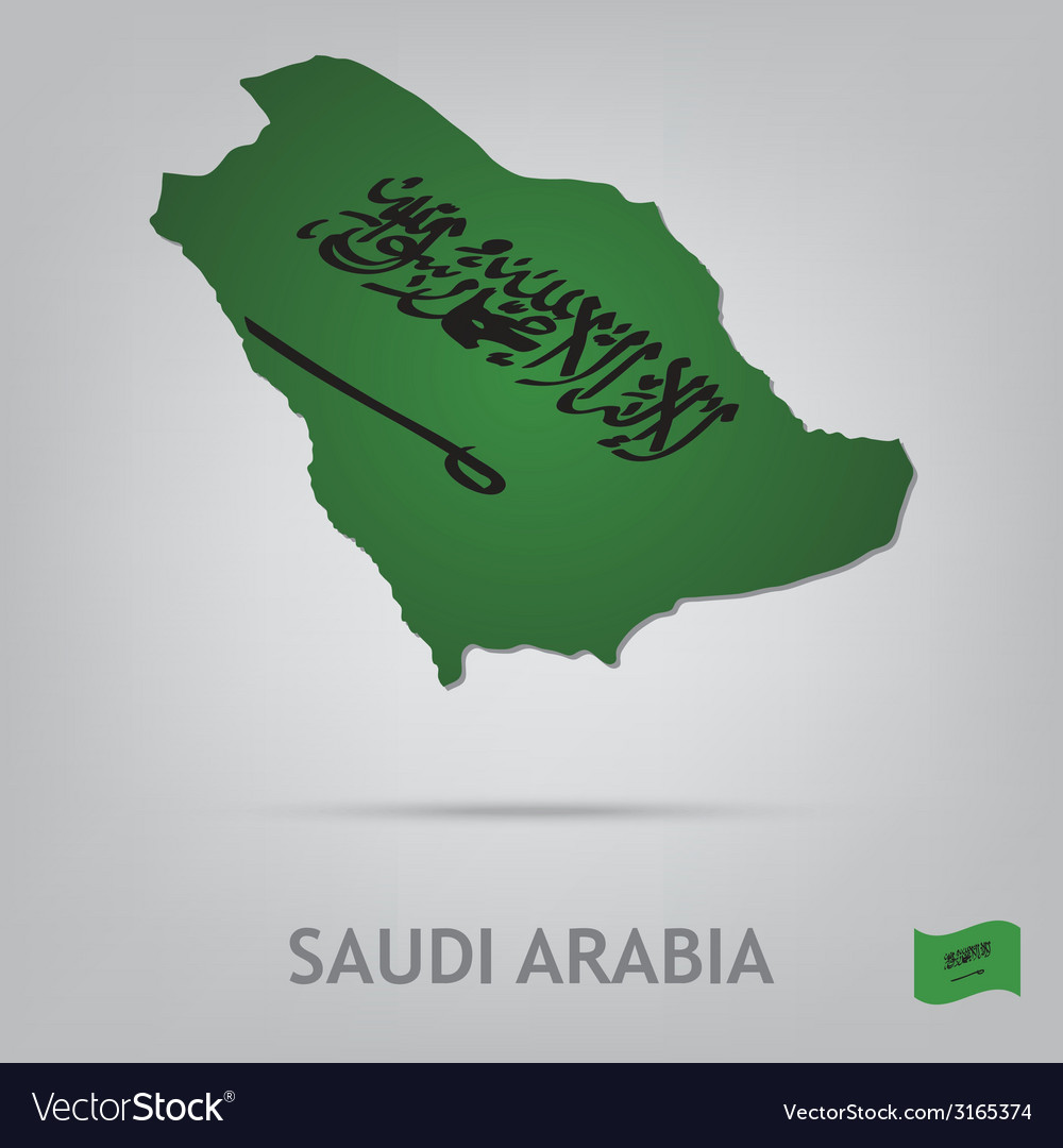 Saudi arabia vector | Price: 1 Credit (USD $1)