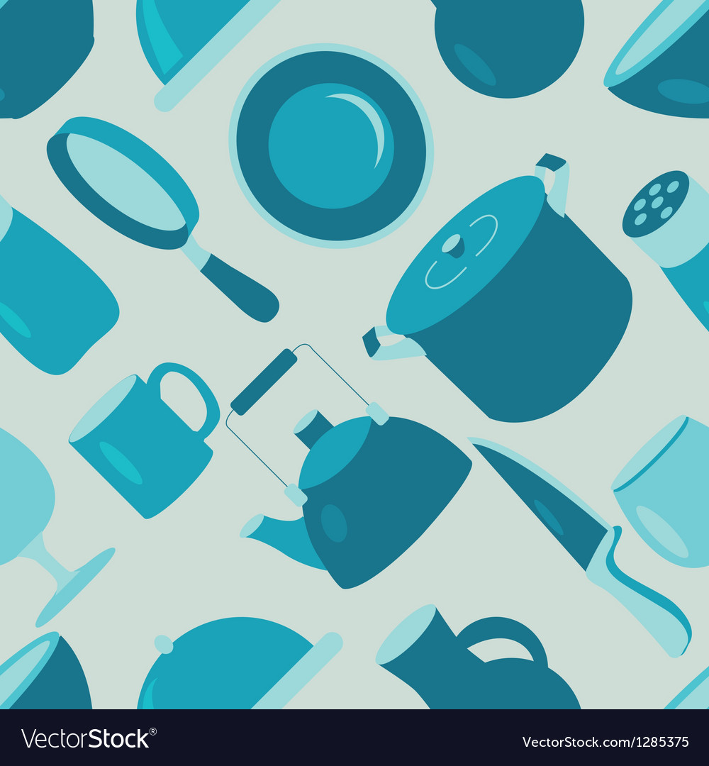 Utensil pattern vector | Price: 1 Credit (USD $1)