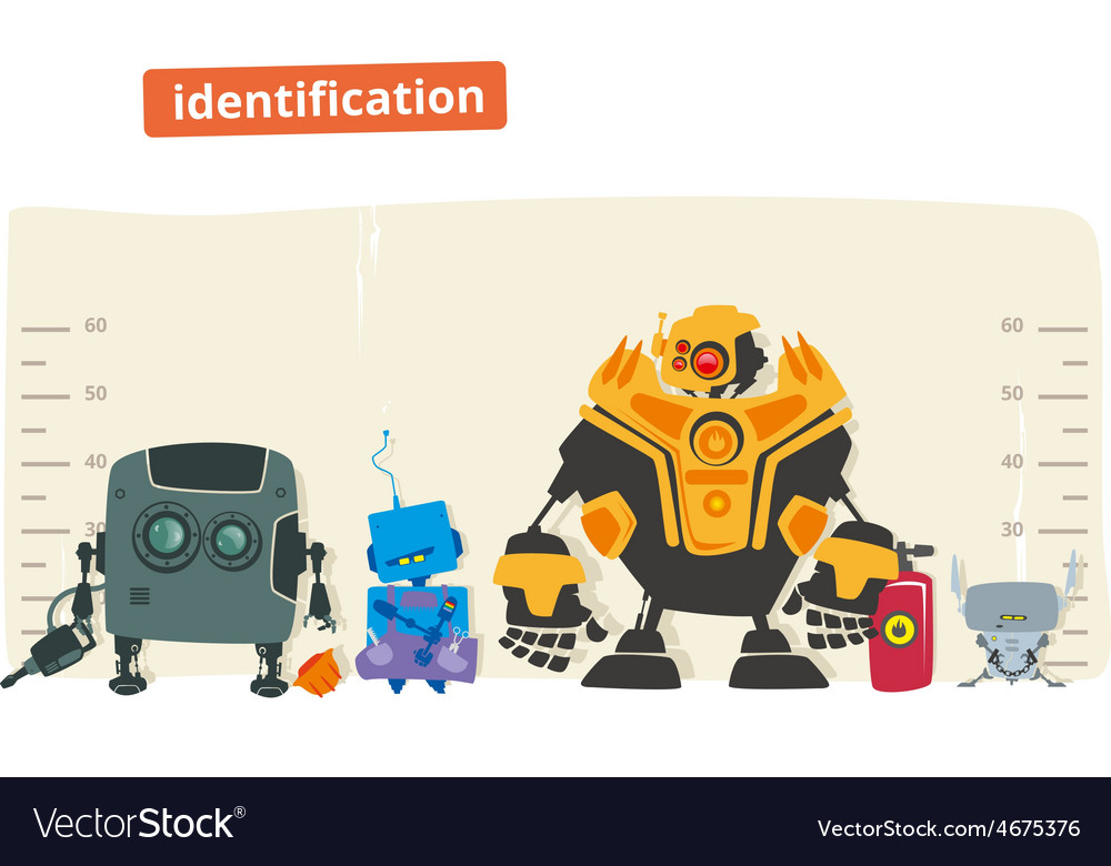 Robot identification vector | Price: 3 Credit (USD $3)