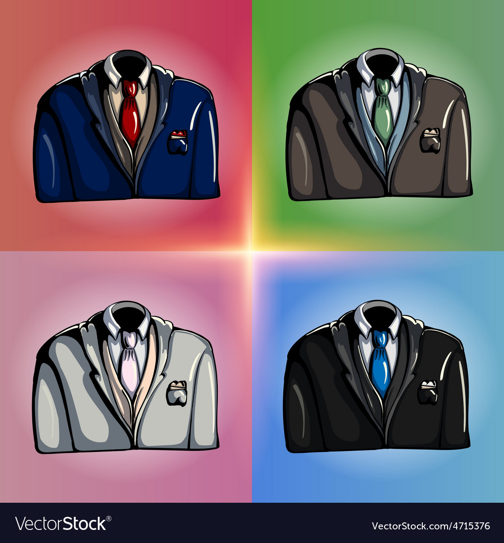 Stylized jackets vector | Price: 3 Credit (USD $3)