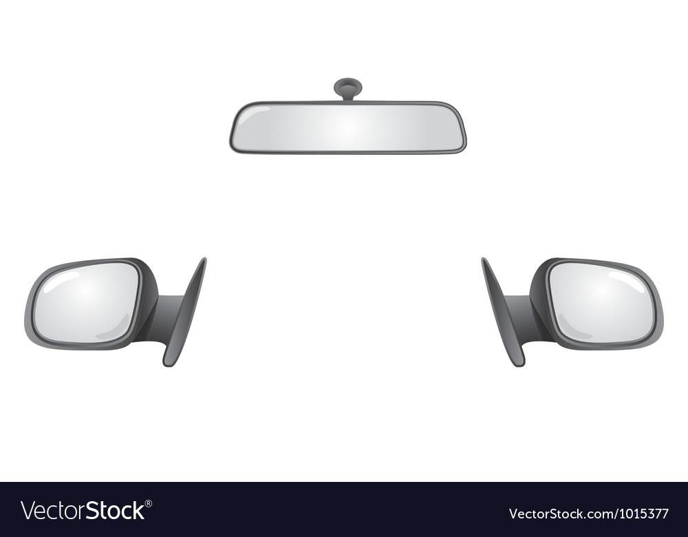 Car mirrors vector | Price: 1 Credit (USD $1)