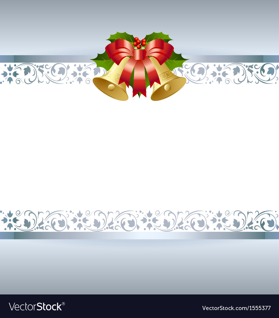 Christmas card template vector | Price: 1 Credit (USD $1)