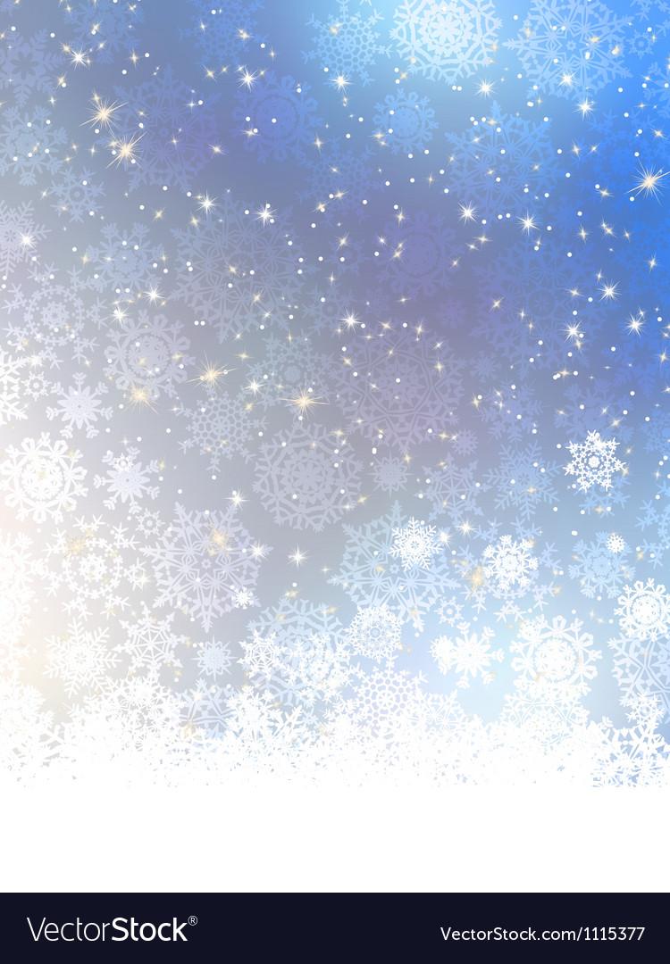 Elegant blue christmas background eps 8 vector   Price: 1 Credit (USD $1)