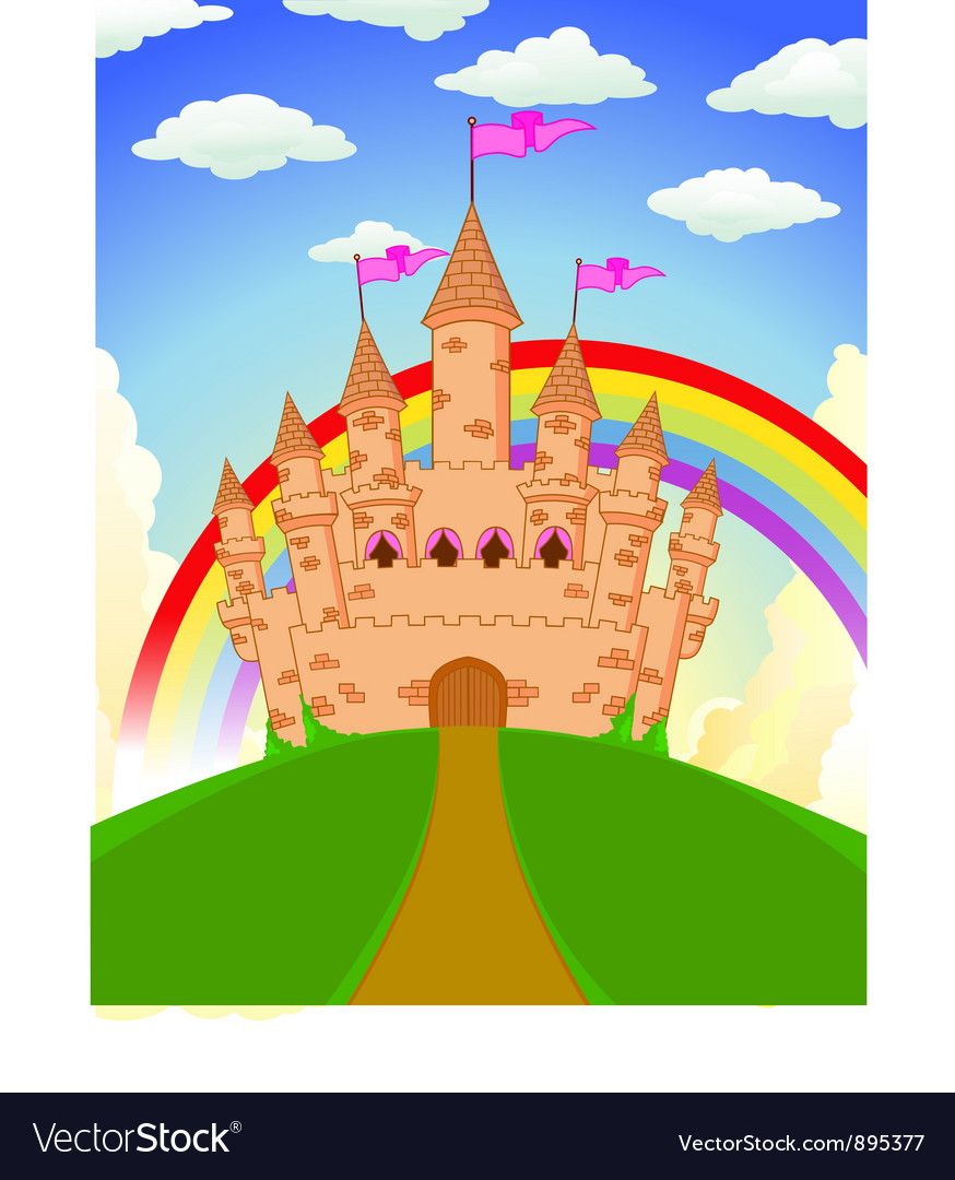 Fairy castle vector | Price: 3 Credit (USD $3)