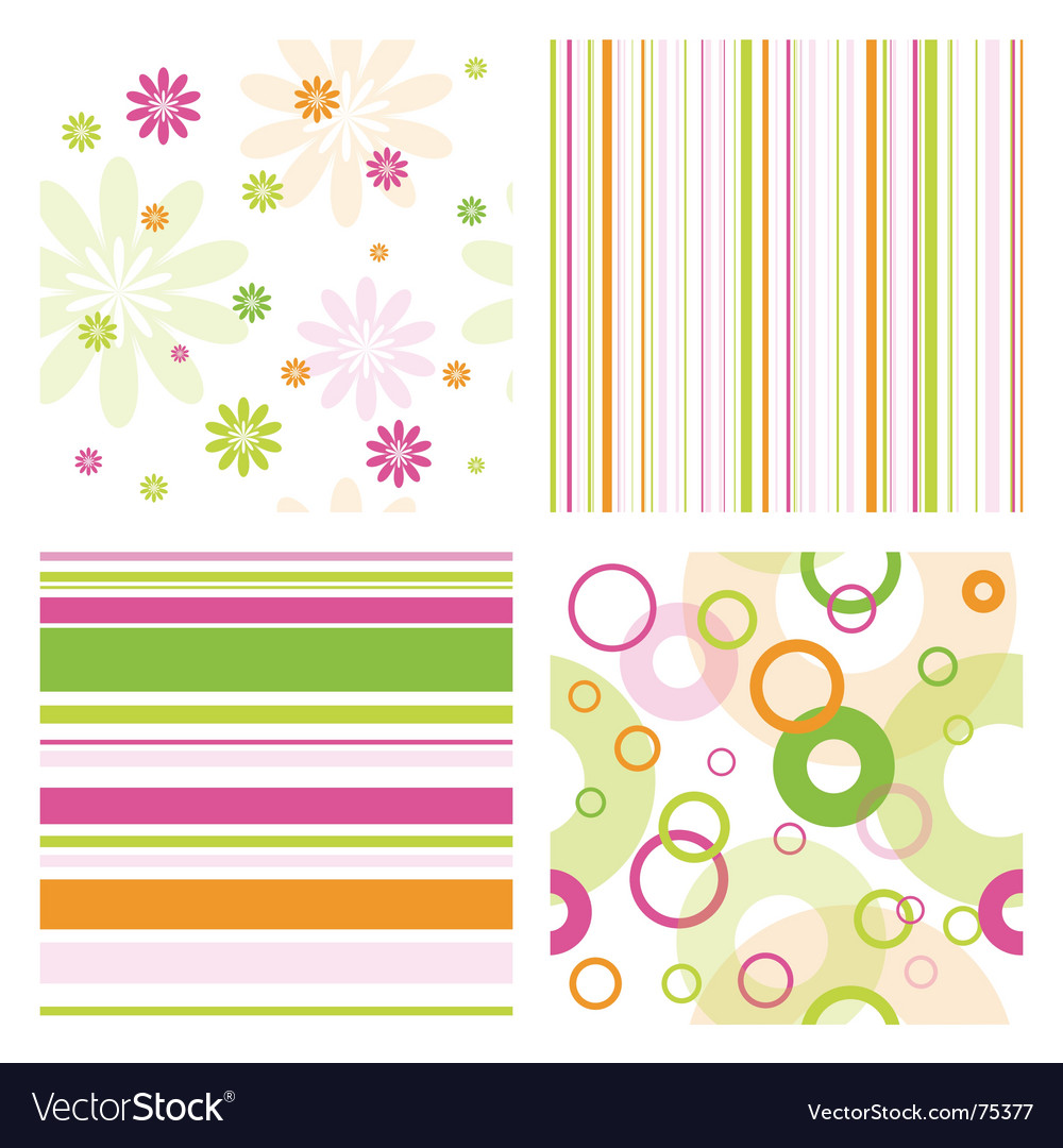 Pattern samples vector | Price: 1 Credit (USD $1)