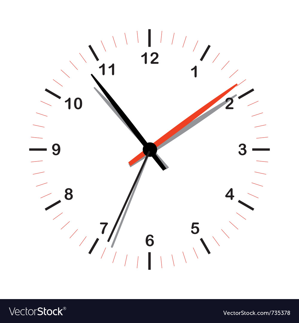 Simple clock icon vector | Price: 1 Credit (USD $1)