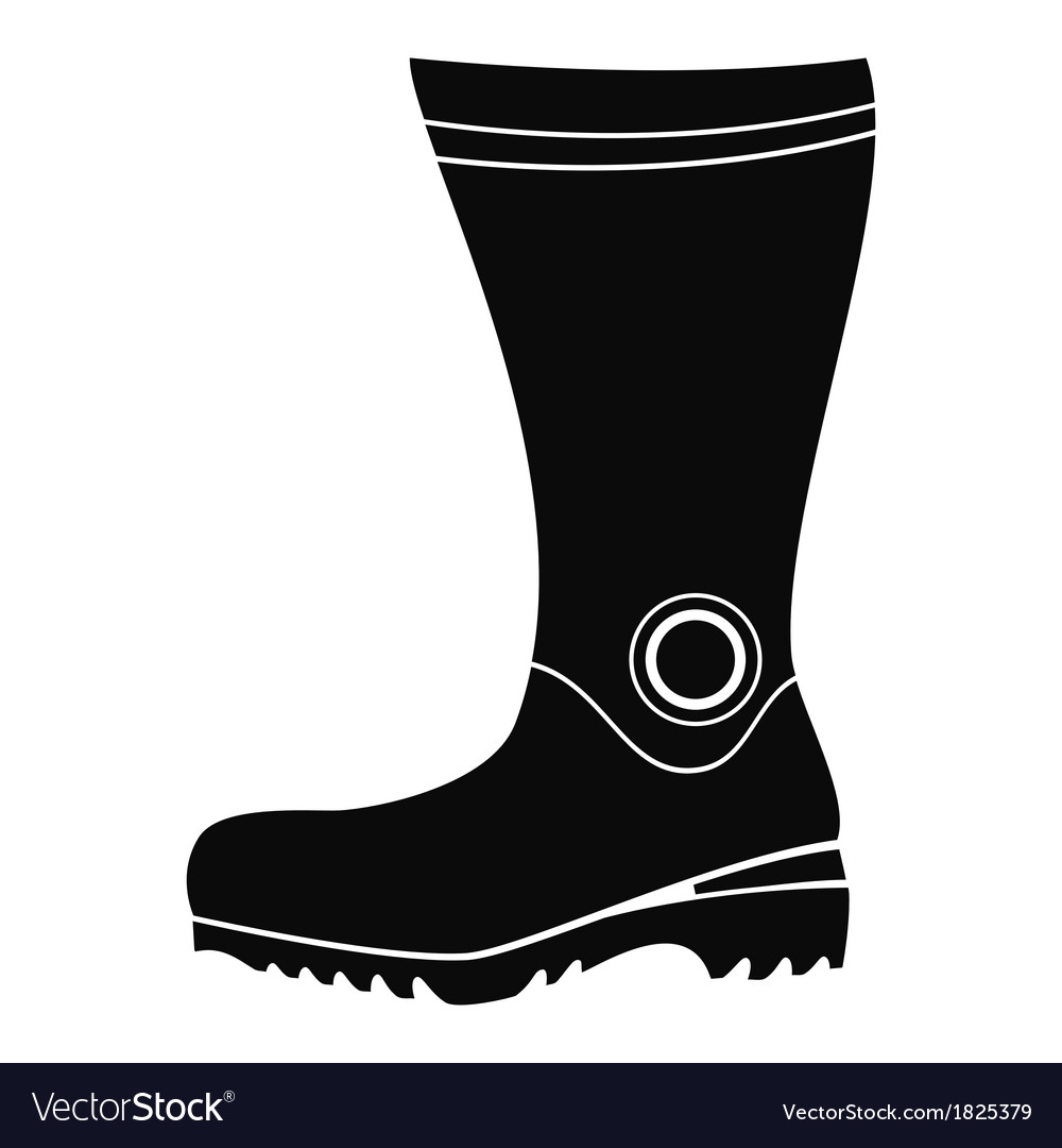 Boot icon vector | Price: 1 Credit (USD $1)
