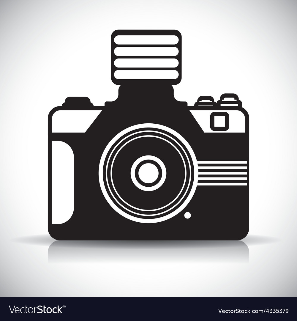 Camera design vector | Price: 1 Credit (USD $1)