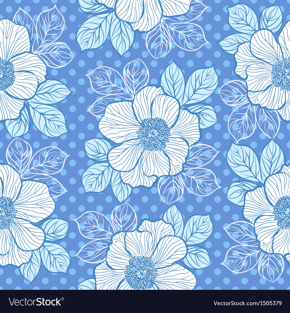 Seamless pattern with peony vector | Price: 1 Credit (USD $1)