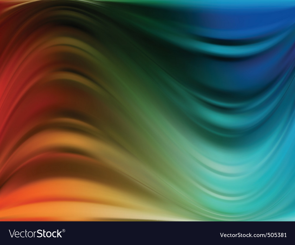 Colorful dynamic and luminous waves eps 8 vector | Price: 1 Credit (USD $1)