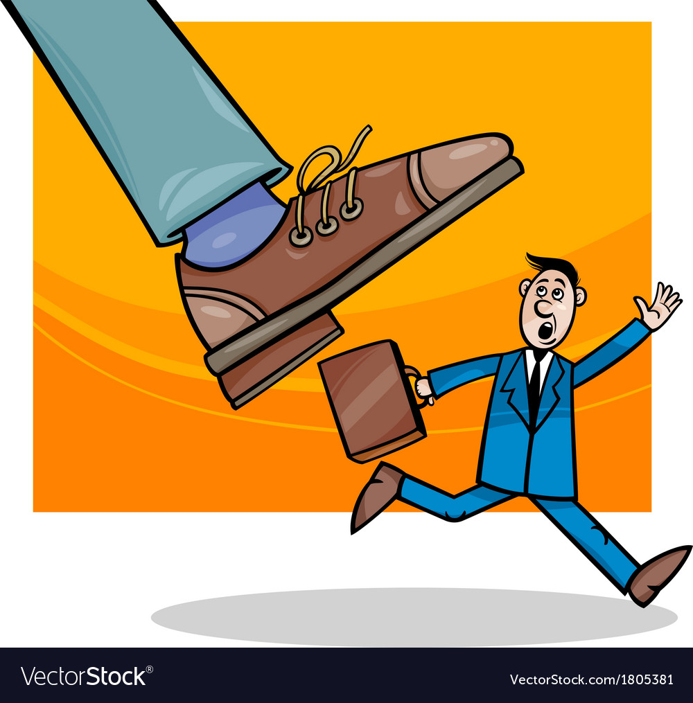Corporations and small business cartoon vector   Price: 1 Credit (USD $1)