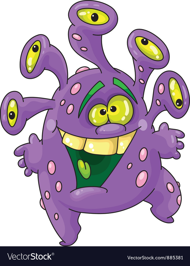 Funny monster vector | Price: 3 Credit (USD $3)