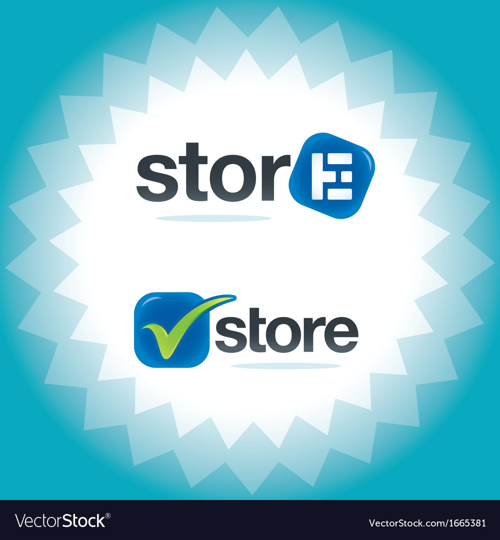 Internet store symbols vector | Price: 1 Credit (USD $1)