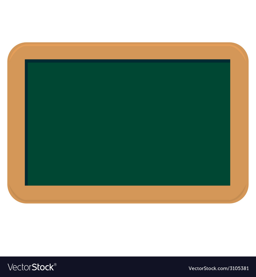 Small chalkboard vector | Price: 1 Credit (USD $1)