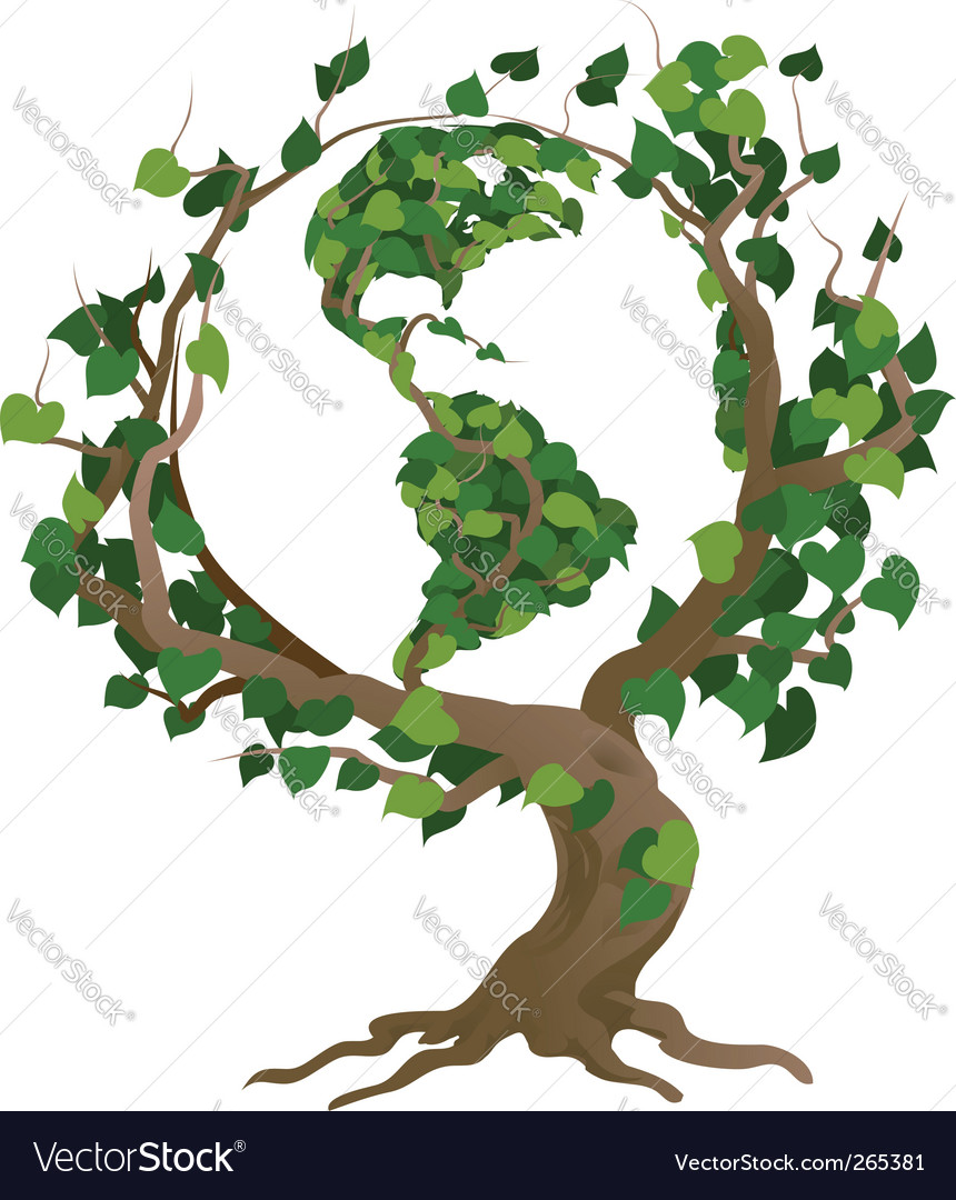 World tree vector | Price: 3 Credit (USD $3)