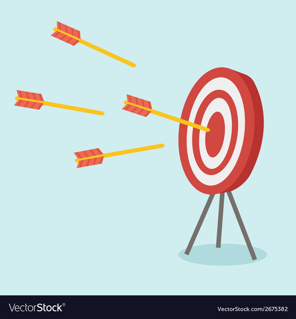Dart symbol vector | Price: 1 Credit (USD $1)