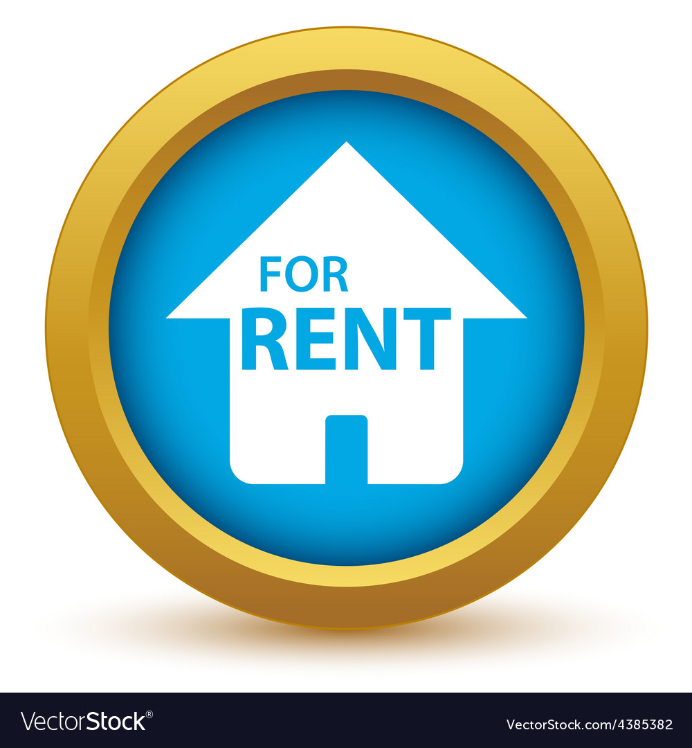 Gold for rent icon vector | Price: 1 Credit (USD $1)
