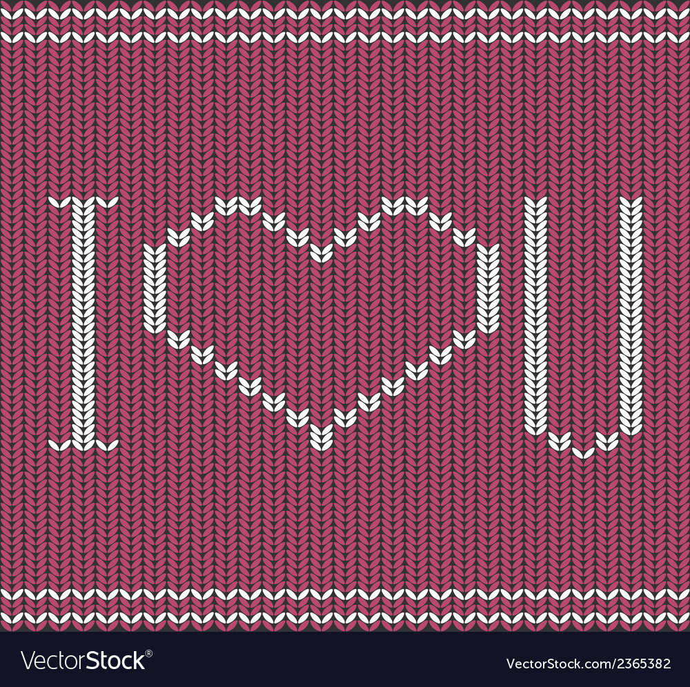 Knitted background vector   Price: 1 Credit (USD $1)