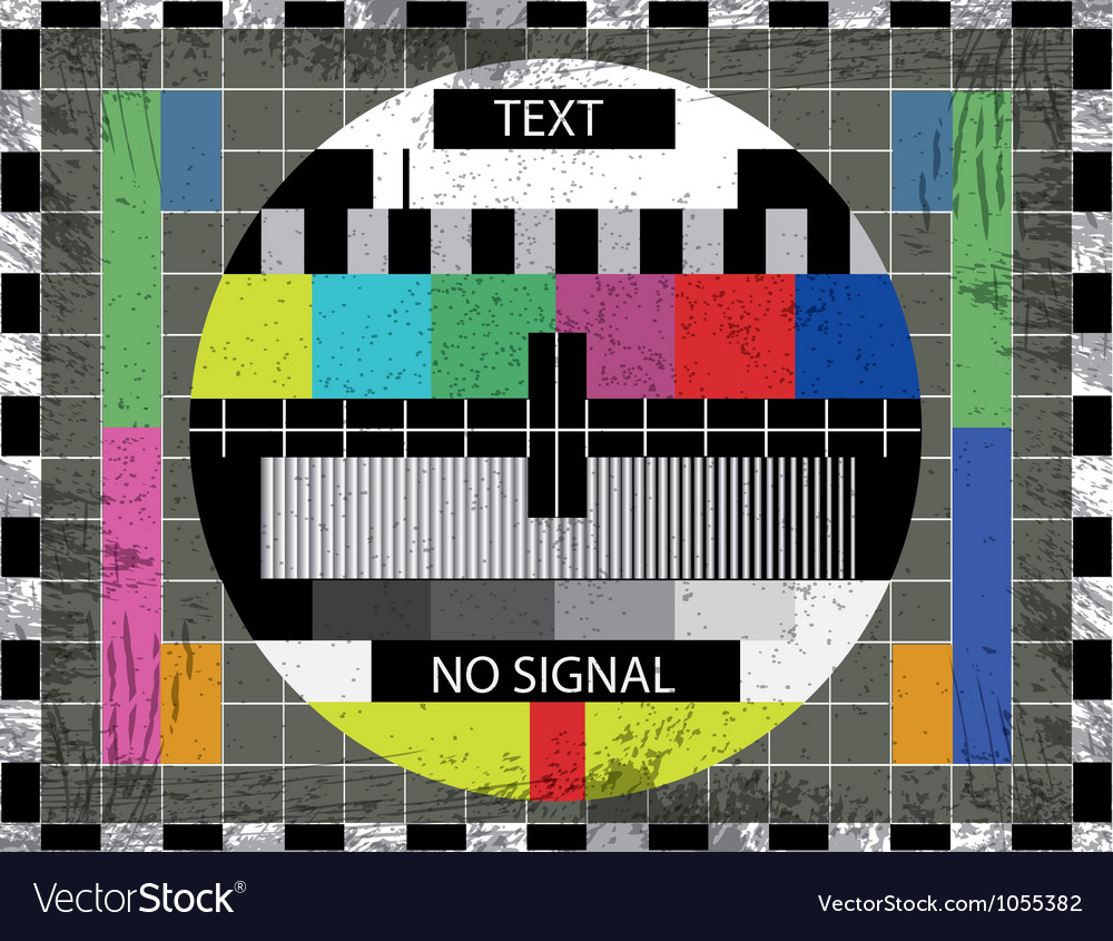 Television static vector | Price: 1 Credit (USD $1)