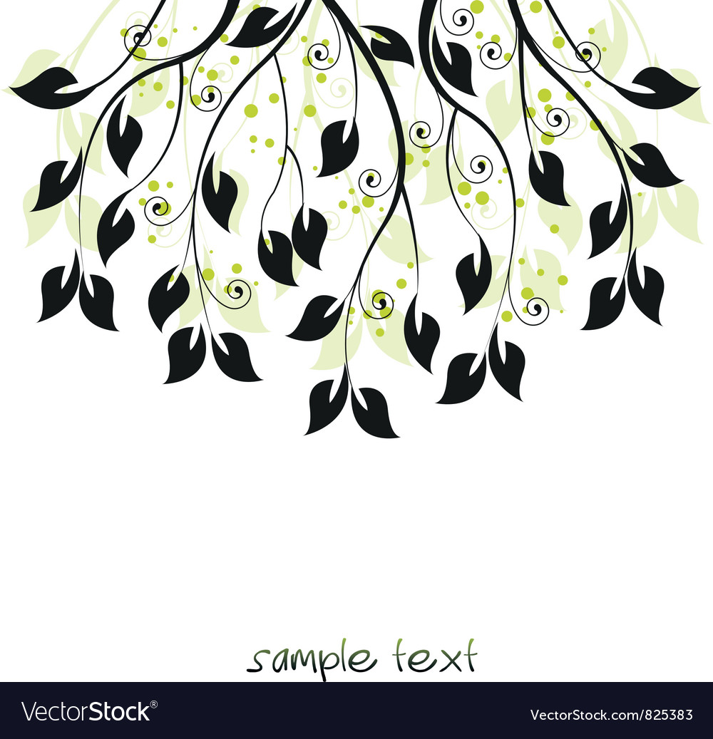 Branches vector | Price: 1 Credit (USD $1)