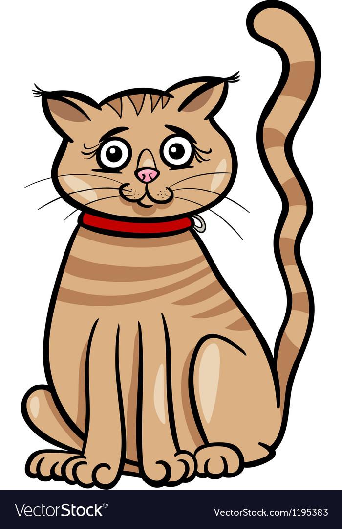 Female cat cartoon vector   Price: 1 Credit (USD $1)