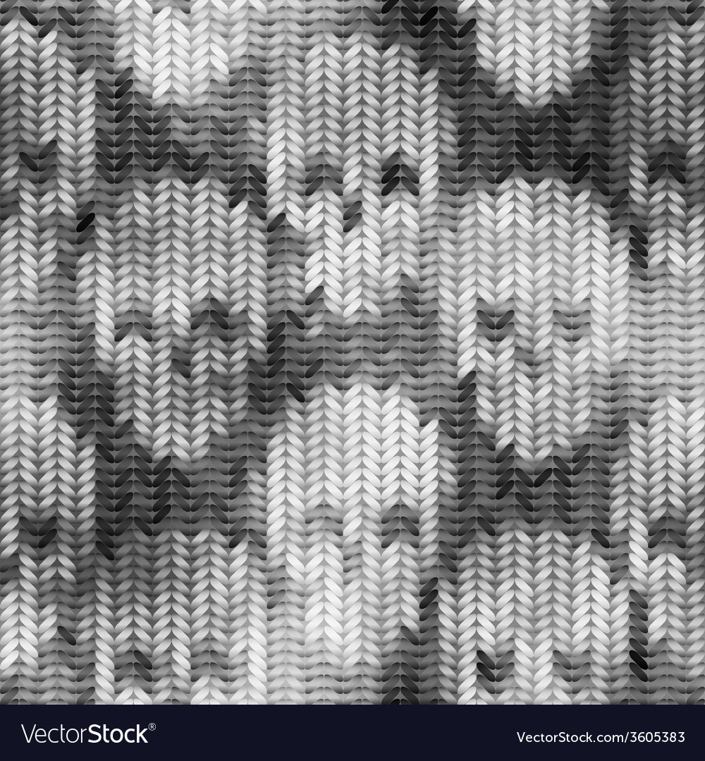 Knitted pattern with the skulls and melange effect vector   Price: 1 Credit (USD $1)