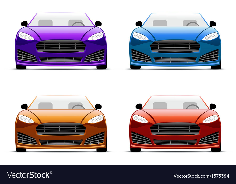 Color cars vector | Price: 1 Credit (USD $1)