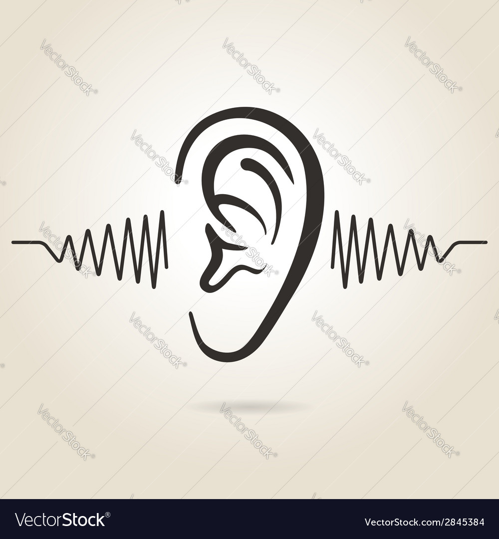 Ear icon vector | Price: 1 Credit (USD $1)