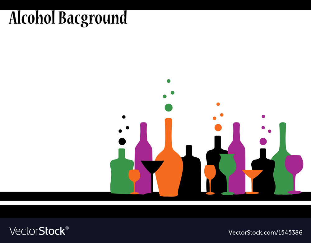Alcohol background vector | Price: 1 Credit (USD $1)