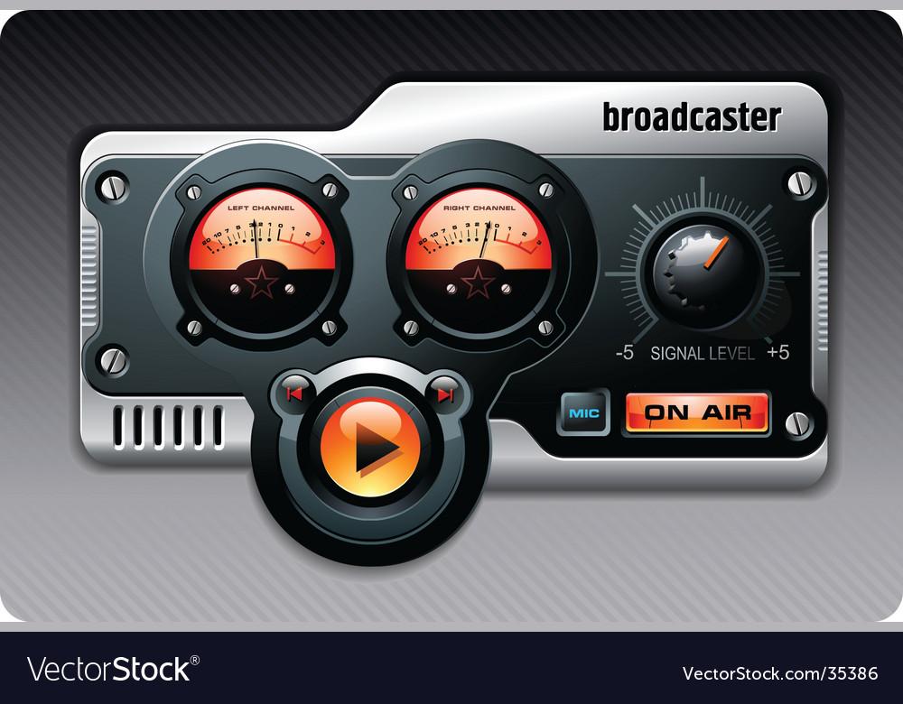 Analog radio vector | Price: 3 Credit (USD $3)