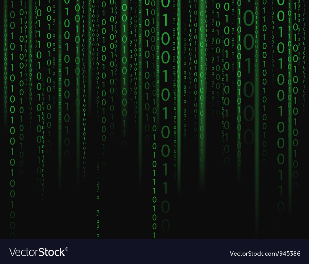 Binary stream vector | Price: 1 Credit (USD $1)